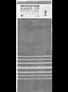 Now Designs London Gray Hang-Up Towel
