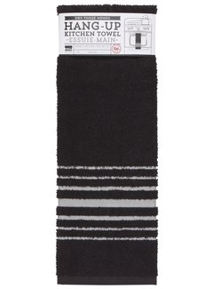 Now Designs Black Hang-up Towel