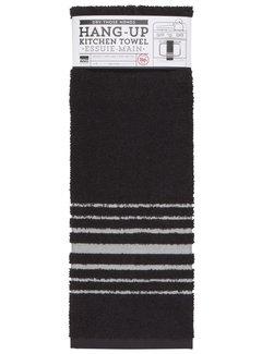 Now Designs Black Hang-up Towel