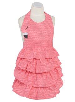 Now Designs Flamingo Daydream Apron - Child