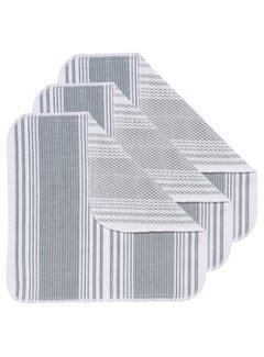 Now Designs London Gray Scrub-It Dishcloths - Set of 3
