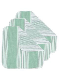 Now Designs Greenbriar Scrub-It Dishcloths - Set of 3
