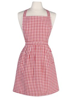 Now Designs Classic Red Gingham Apron