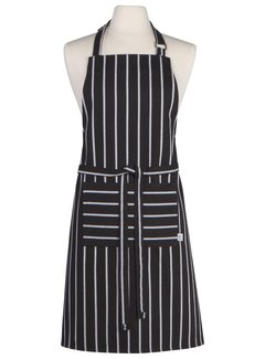 Now Designs Chef Stripe Black Chef's Apron