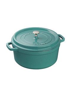 Staub Cocotte Round 5.5QT Turquoise