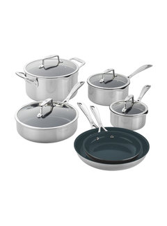 Zwilling Cookware Clad CFX SS 10 Pc. Set
