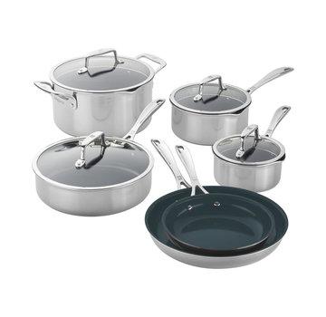 Zwilling Cookware Clad CFX SS 10 Pc. Set