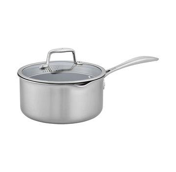 Zwilling Cookware Clad CFX 3 qt SS Nonstick Sauce Pan