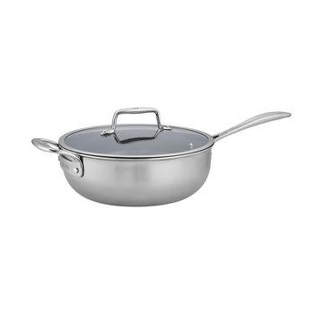 Zwilling Cookware Clad CFX 4.5 qt SS Nonstick Perfect Pan