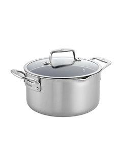 Zwilling Cookware Clad CFX 6 qt SS Nonstick Dutch Oven