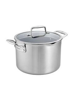 Zwilling Cookware Clad CFX 8 qt SS Nonstick Stock Pot