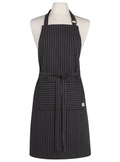 Now Designs Black Pinstripe Chef's Apron