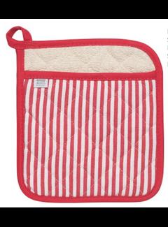 Now Designs Red Narrow Stripe Superior Potholder