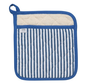 Blue Narrow Stripe Superior Potholder