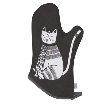 Now Designs Oven Mitt - Purr Party