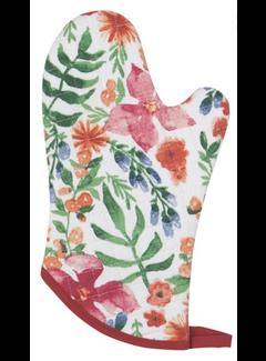 Now Designs Oven Mitt - Botanica
