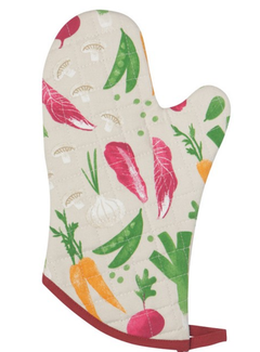 Now Designs Oven Mitt - Veggies