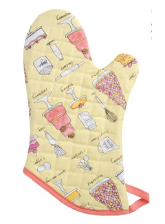 Now Designs Oven Mitt - Bake A Cake
