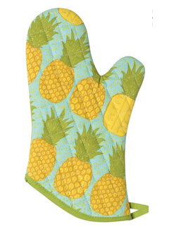 Now Designs Oven Mitt - Pineapple