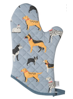 Now Designs Oven Mitt - Dog Days