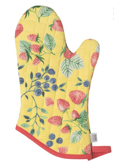 Now Designs Oven Mitt - Berry Patch