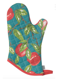 Now Designs Oven Mitt - Orchard Apple