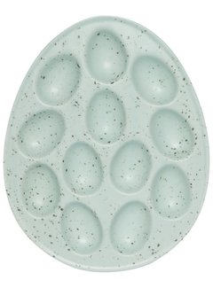 Now Designs Green Egg Plate