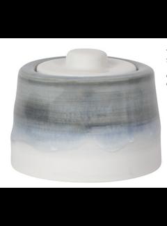 Now Designs Tempest Sugar Pot - Cloud Gray