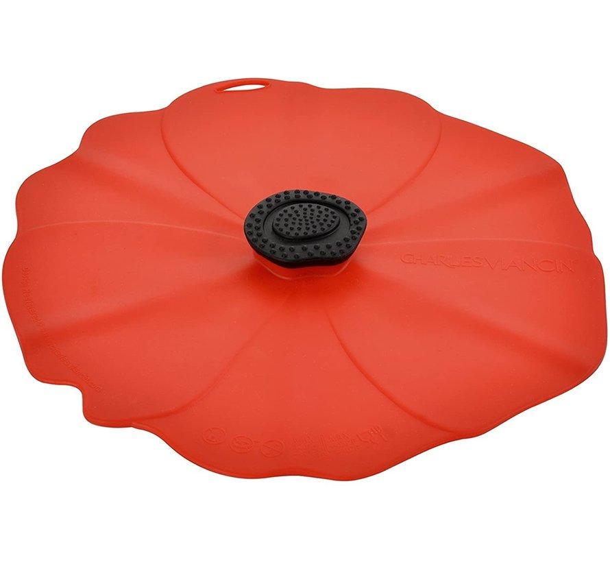 Poppy Lid 11'' (Red)