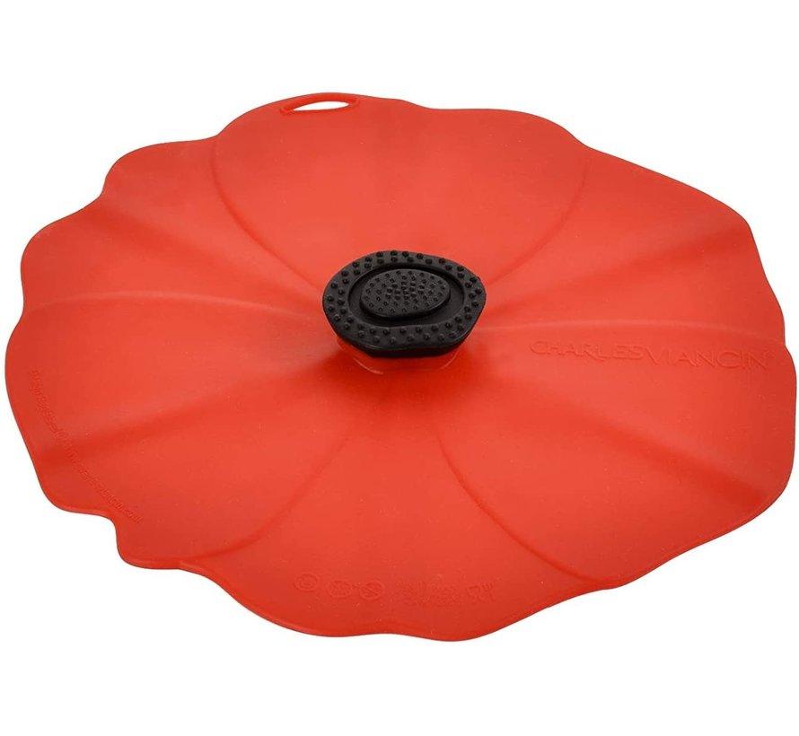 Poppy Lid 8'' (Red)