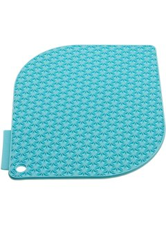 Charles Viancin Honeycomb Pot Holder Blue - Turquoise