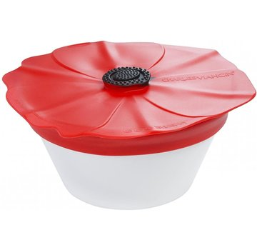 Charles Viancin Poppy Spill Proof Lid 9'' (Red Scarlet)