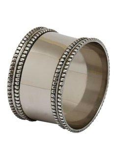 DII Silver Band Napkin Ring