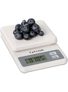 Taylor Compact Kitchen Scale - White