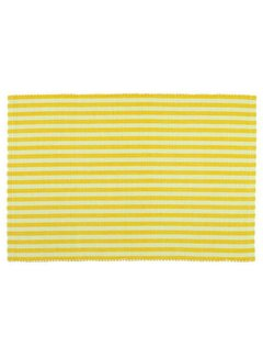 DII Canary Yellow Stripe Placemat