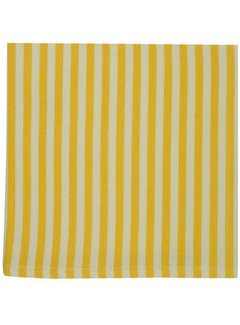 DII Canary Yellow Petite Stripe Napkins