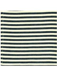 DII Black Petite Stripe Napkins