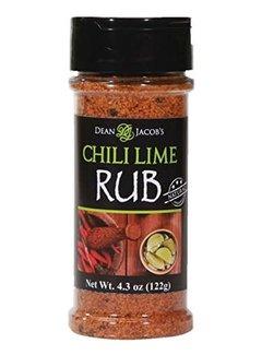 Dean Jacob's Chili Lime Rub Jar