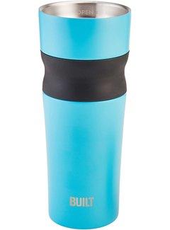 Built PureFlow Grip Tumbler 16 oz, Aqua