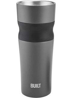 Built PureFlow Grip Tumbler 16 oz, Charcoal