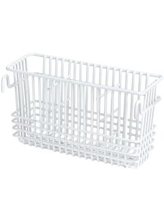 Better Houseware Wire Cutlery Basket - White