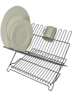 Better Houseware Jr. Folding Dishrack - Metallic