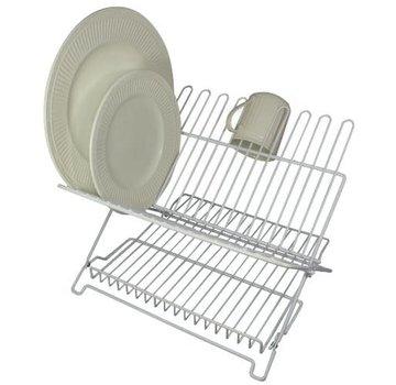 Better Houseware Jr. Folding Dishrack - White