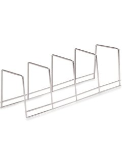 Better Houseware 4 Section Plate Rack - Chrome