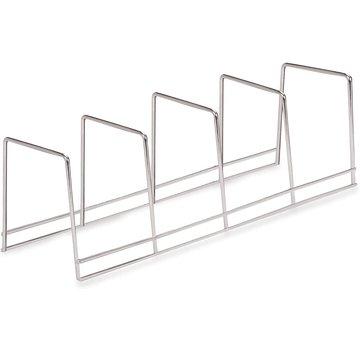 Better Houseware 4 Section Plate Rack - Chrome
