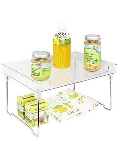 Better Houseware Clear Stackable Shelf
