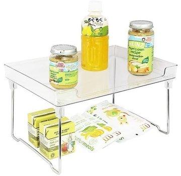 Better Houseware Clear Stackable Shelf