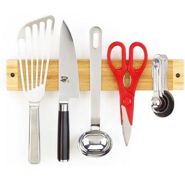 Better Houseware Bamboo Magnetic Knife Rack