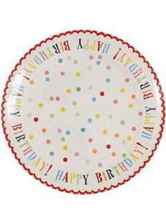 DII Happy Birthday! Cake Plate