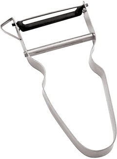 Paderno Harp Vegetable Peeler, Stainless Steel